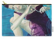 Working On A Dream - Loose Pearls Carry-all Pouch by Dorina  Costras