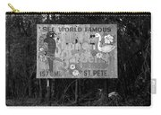 World Famous Sunken Gardens Carry-all Pouch