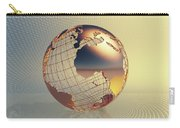 World Global Business Background Carry-all Pouch