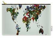 World Map 12b Carry-all Pouch