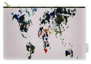 World Map 14b Carry-all Pouch