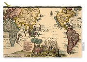 World Map 1707 Carry-all Pouch
