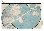 World Map - 1857 Carry-all Pouch