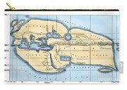 World Map: Eratosthenes Carry-all Pouch