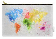World Map Painting Carry-all Pouch
