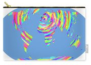 World Map Radial Eurocentric Carry-all Pouch