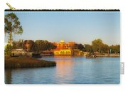 World Showcase Lagoon Before The Show Walt Disney World Carry-all Pouch