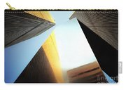 World Trade Center Towers And The Ideogram 1971-2001 Carry-all Pouch