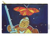 World Turtle King Of Swords Carry-all Pouch