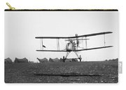 World War I: Biplane, 1916 Carry-all Pouch