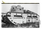 World War I British Tank. For Licensing Requests Visit Granger.com Carry-all Pouch by Granger