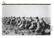 World War I: Camel Corps Carry-all Pouch