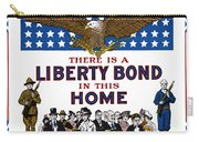 World War I Liberty Bond Ad Carry-all Pouch by Granger