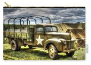 World War II Army Truck Carry-all Pouch