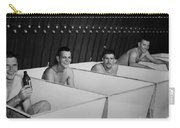World War II Bath Time For Guys Carry-all Pouch
