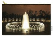 World War II Memorial At Night Carry-all Pouch