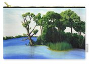 Worlds Away Off The Wye River Carry-all Pouch