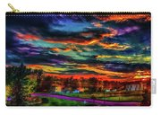 World's Most Psychedelic Autumn Sunsset Carry-all Pouch