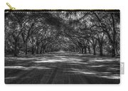 Wormsloe Plantation 2 Live Oak Avenue Art Carry-all Pouch