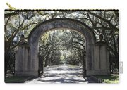 Wormsloe Plantation Gate Carry-all Pouch by Carol Groenen