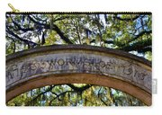 Wormsloe Plantation Isle Of Hope Ga 2 Carry-all Pouch