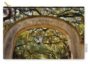 Wormsloe Plantation Isle Of Hope Ga Carry-all Pouch