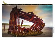 Worn Rusting Shipwreck Carry-all Pouch