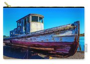 Worn Weathered Boat Carry-all Pouch
