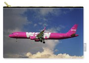 Wow Air Airbus A321-211 Carry-all Pouch