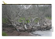 Wrack And Driftwood Carry-all Pouch