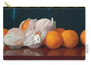 Wrapped Oranges On A Tabletop Carry-all Pouch