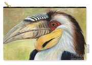 Wreathed Hornbill  Carry-all Pouch