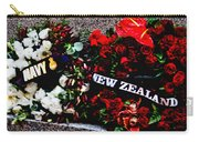 Wreaths From New Zealand And Our Navy Carry-all Pouch