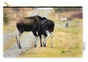 Amorous Moose Wrestling Carry-all Pouch