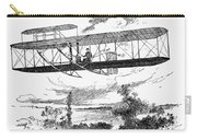 Wright Brothers Plane Carry-all Pouch