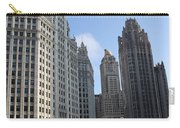 Wrigley And Tribune Tower Carry-all Pouch