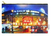 Wrigley Field Home Of Chicago Cubs Carry-all Pouch