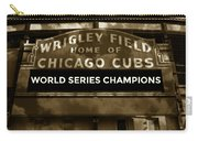 Wrigley Field Sign - Vintage Carry-all Pouch