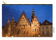 Wroclaw Old Town Hall At Night Carry-all Pouch