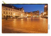 Wroclaw Old Town Market Square At Night Carry-all Pouch