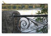 Wrought Iron At Niagara Falls Carry-all Pouch