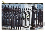 Wrought Iron Cemetery Fence Carry-all Pouch