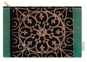 Wrought Iron Circle Carry-all Pouch