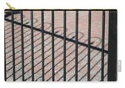 Wrought-iron Gate And Shadows Carry-all Pouch