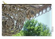 Wrought Iron Scroll Carry-all Pouch