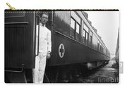 Ww I: Red Cross Railroad Carry-all Pouch