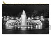 Ww2 Memorial Fountain Carry-all Pouch