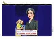 Ww2 Us Cadet Nurse Corps Carry-all Pouch by War Is Hell Store