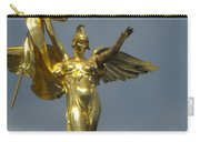 Wwi Gold Winged Victory Statue Carry-all Pouch