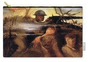 Wwii: Color Line Poster Carry-all Pouch